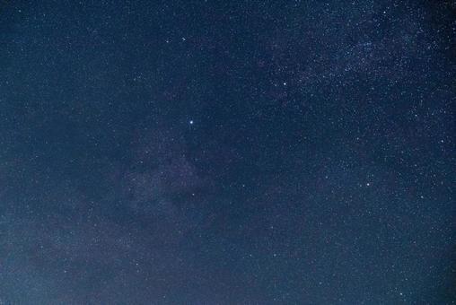 繁星點點的天空