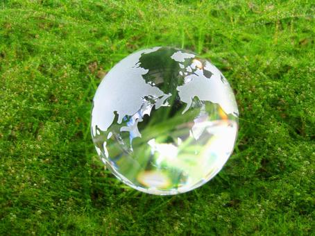 Crystal Earth and Green