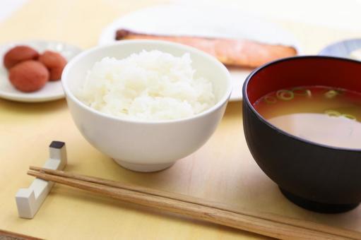 Simple Japanese set menu 8