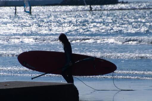 쇼난 材木座 해안 1