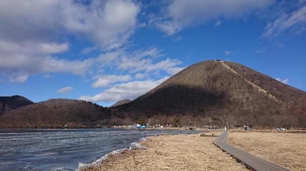 Mt. Haruna and Lake Haruna