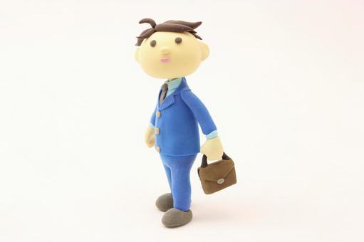 A businessman with a bag