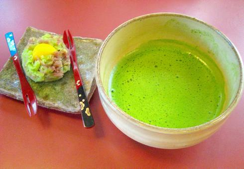 Kyoto tea and Japanese sweets