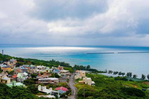 Scenery of Nanjo City, Okinawa Prefecture