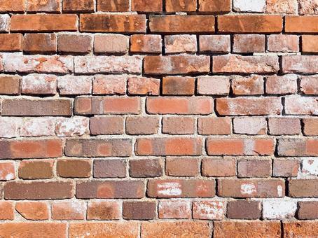 세련되고 고풍스러운 벽돌 벽