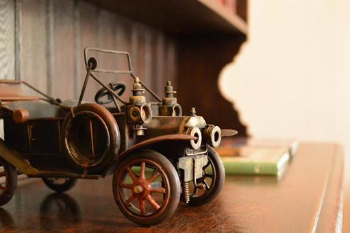 Classic car ornament