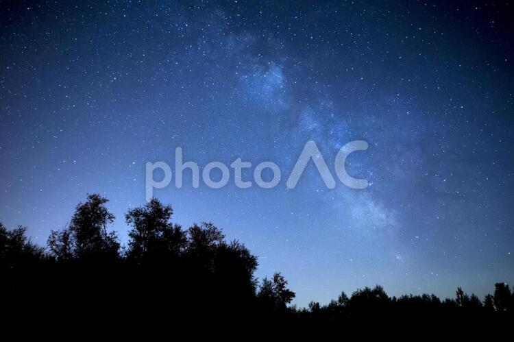 満天の星空5の写真