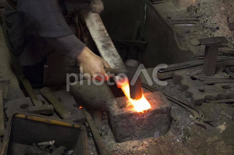 鍛冶職人の写真