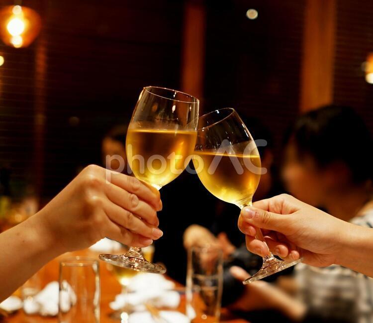 乾杯 飲み会の写真