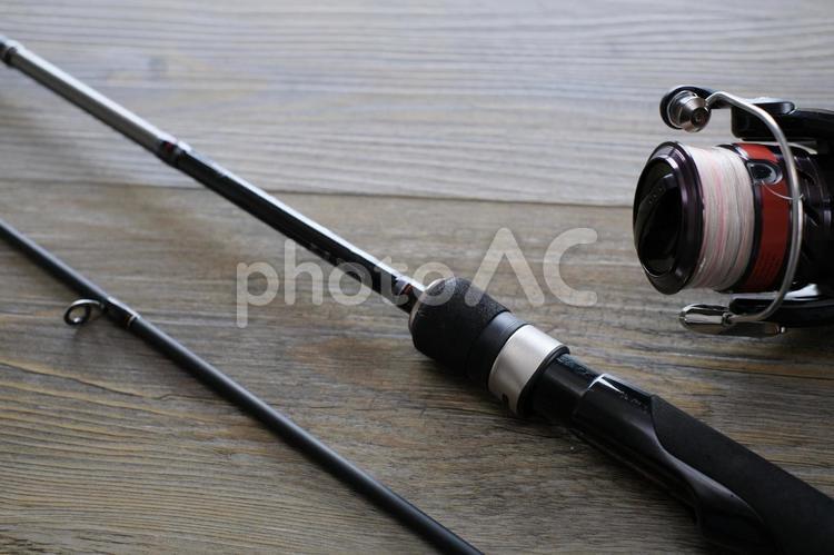 釣り竿とリール1の写真