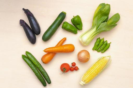 Vegetables_background material