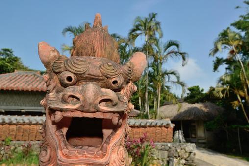 Okinawa's guardian god Shisa