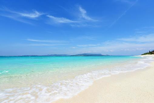 Okinawa beautiful sea healing