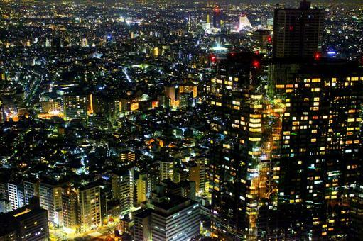 도쿄 야경 빛의 절경 4 골드