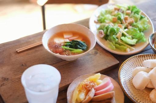 Ozoni and soup