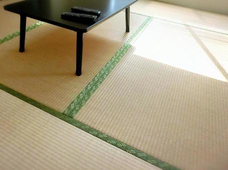 Tatami and desk