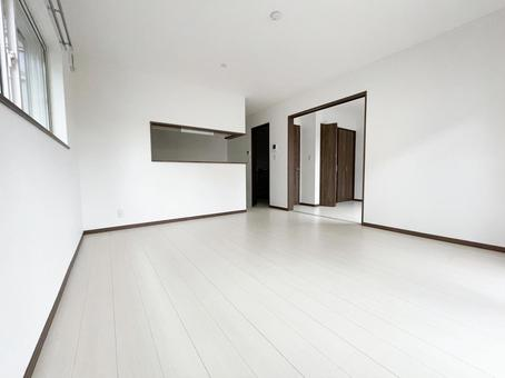 Newly built detached house ldk before moving in