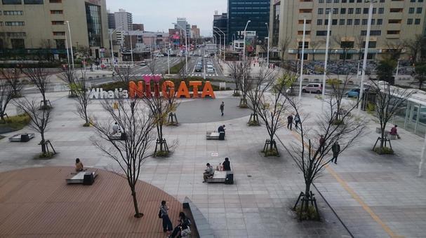 Niigata Station Yamanami