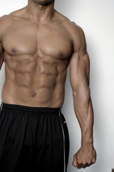 Athlete's abdominal muscle 9