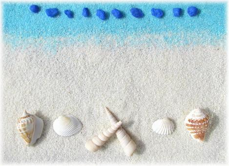 Seashell message card 1