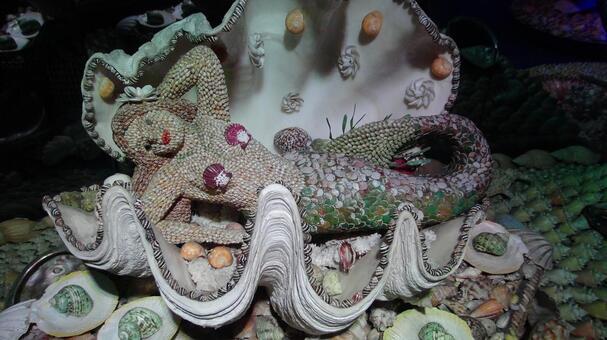 Mermaid and shellfish