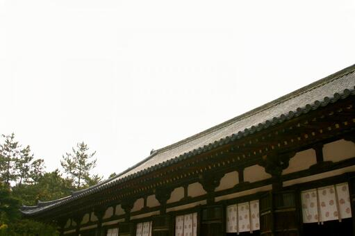 Tang recruit temple lecture hall