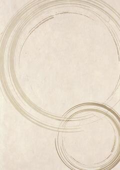 Japanese paper _ brush pattern _ vertical