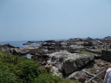 仁右衛門島과 바다