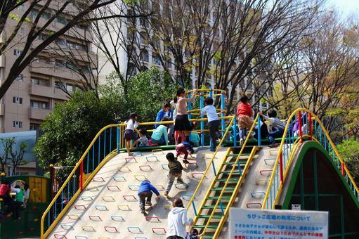 Park where children play
