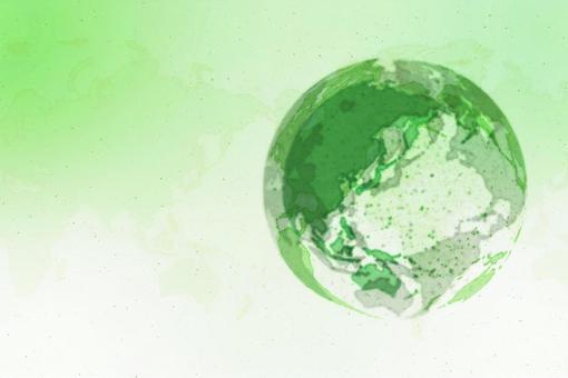 녹색 디지털 네트워크 이미지 흰색 배경