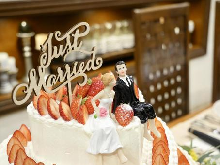Wedding cake (two on the cake)-2