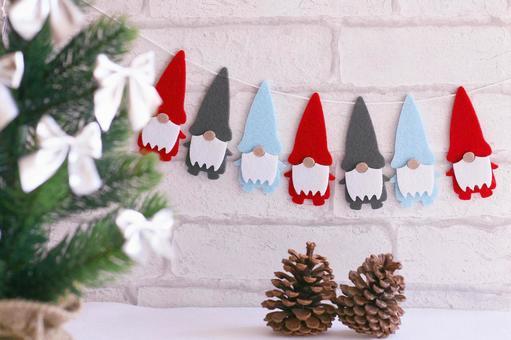 圣诞节墙壁装饰