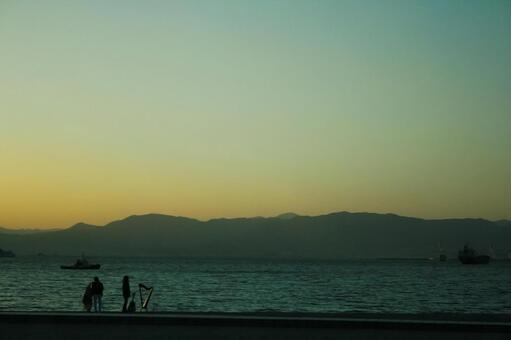Beach and music