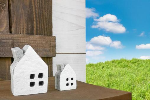 Image of house Miniature house