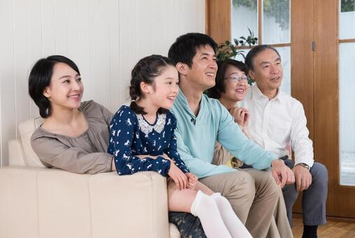 Good friend Three generations family (sofa) 12