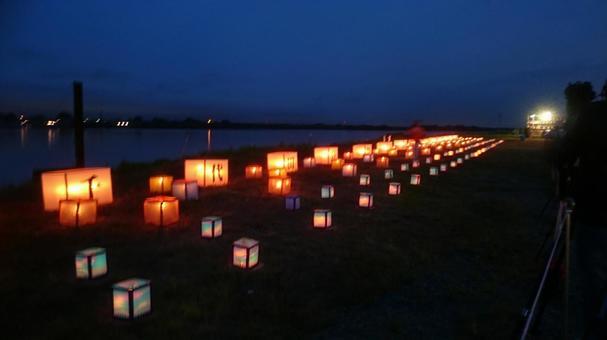 Chiyoda Festival River Segaki