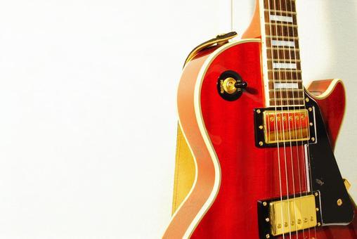 Electric guitar (Les Paul) whole