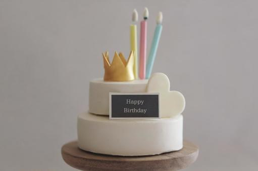 生日蛋糕微型