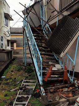 池島 노후 주택