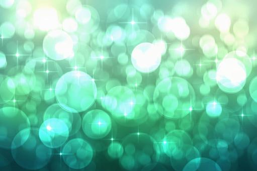 Glittering background green