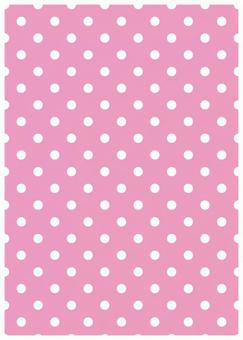 Pink background and white dot