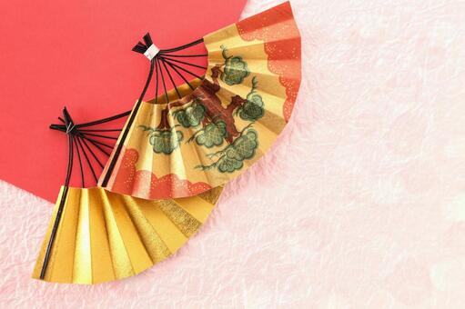 Fan and origami