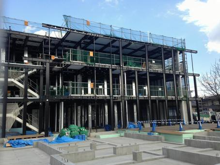Apartment building site