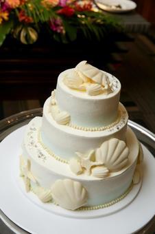 Mermaid wedding cake