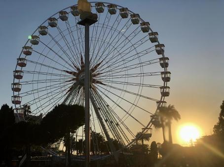 Ferris wheel in Nice, France