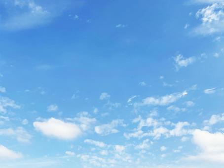 天空和雲彩 好天氣