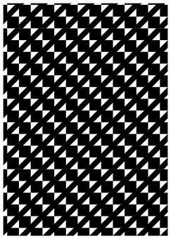Geometric pattern texture Small ribbon