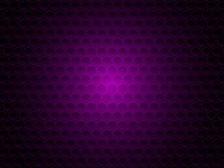 Hexagonal punching style background pattern material 3