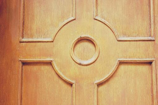 Background decorative door