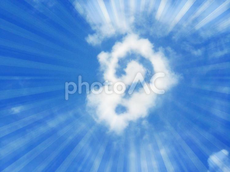 空と雲25の写真